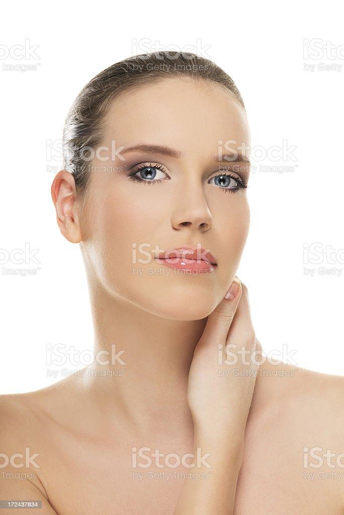 Art of beauty royalty-free stock photo