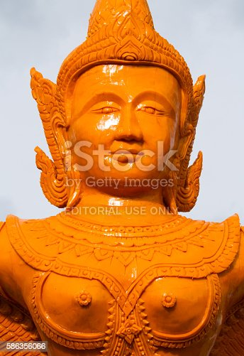 istock Art of carved candles 586356066