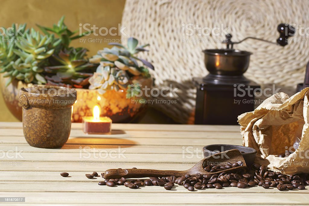 Art of Coffee royalty-free stock photo