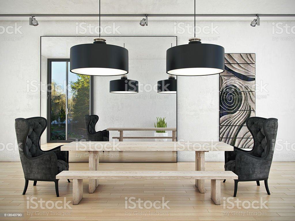 Art of Meeting Room stock photo