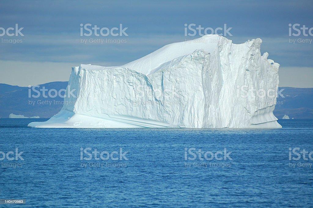 Art of nature - Icebergs stock photo