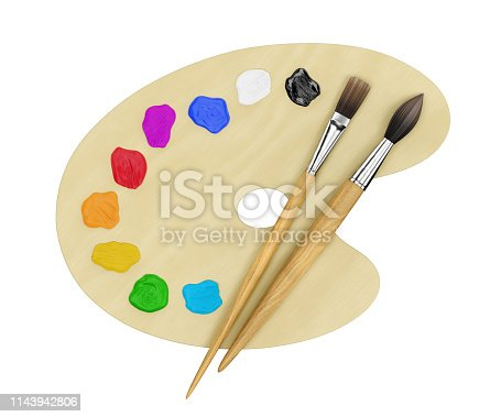 493201681 istock photo Art Painting Supplies 1143942806