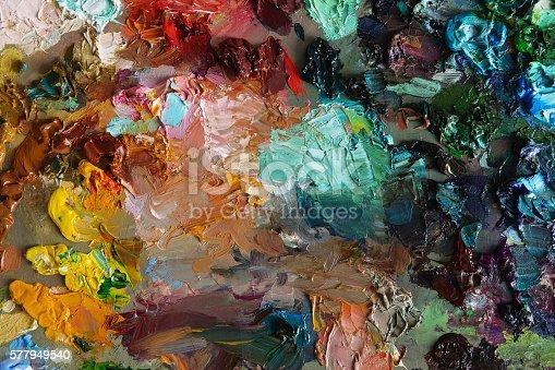 577949148istockphoto art palette background texture 577949540