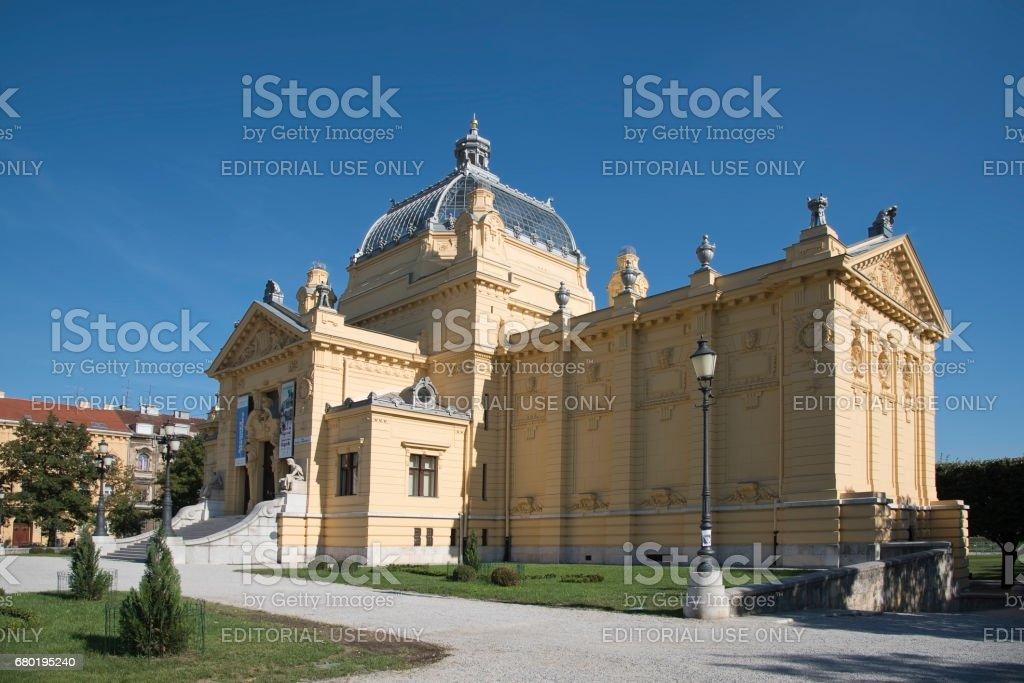 Pavillon in Zagreb, Kroatien – Foto
