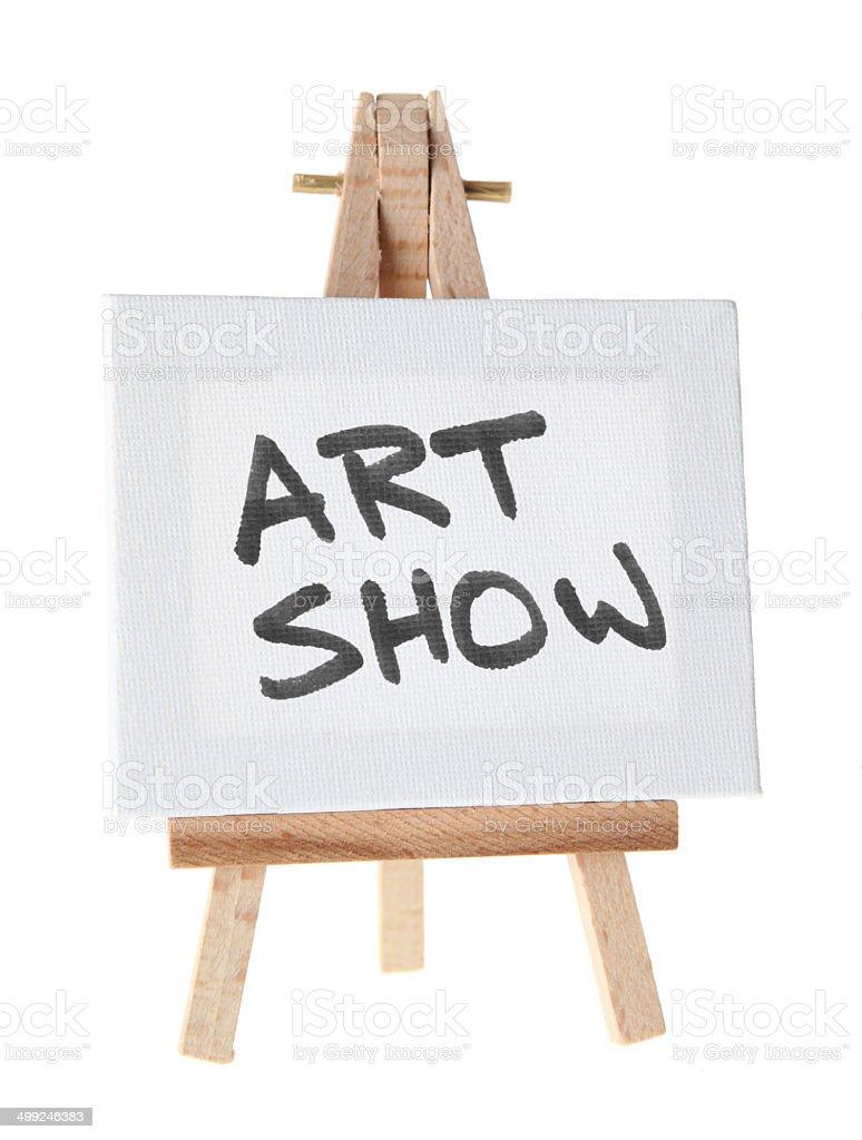 Art Show stock photo