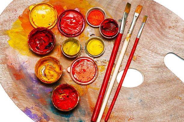 art studio Farben – Foto