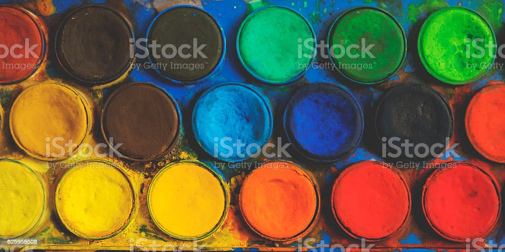 Art stuff stock photo