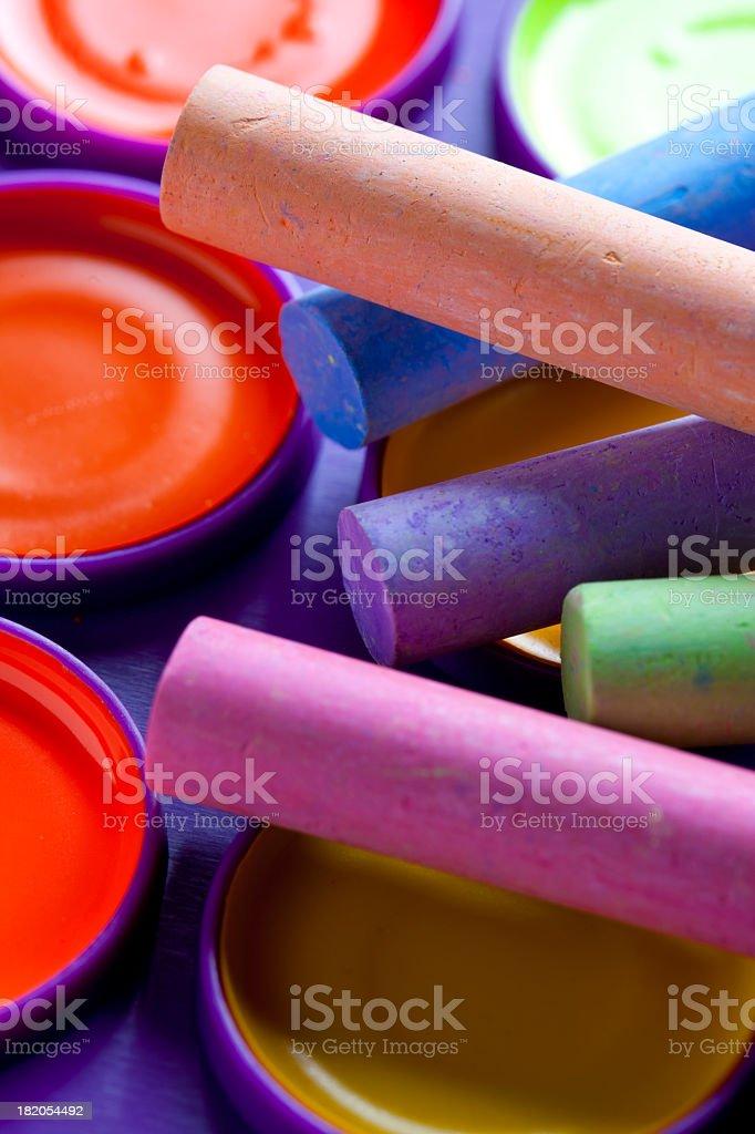 Art Supplies royalty-free stock photo