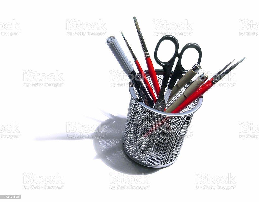 Art Supplies - Precision royalty-free stock photo