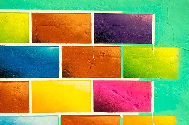 Art Wall stock photo