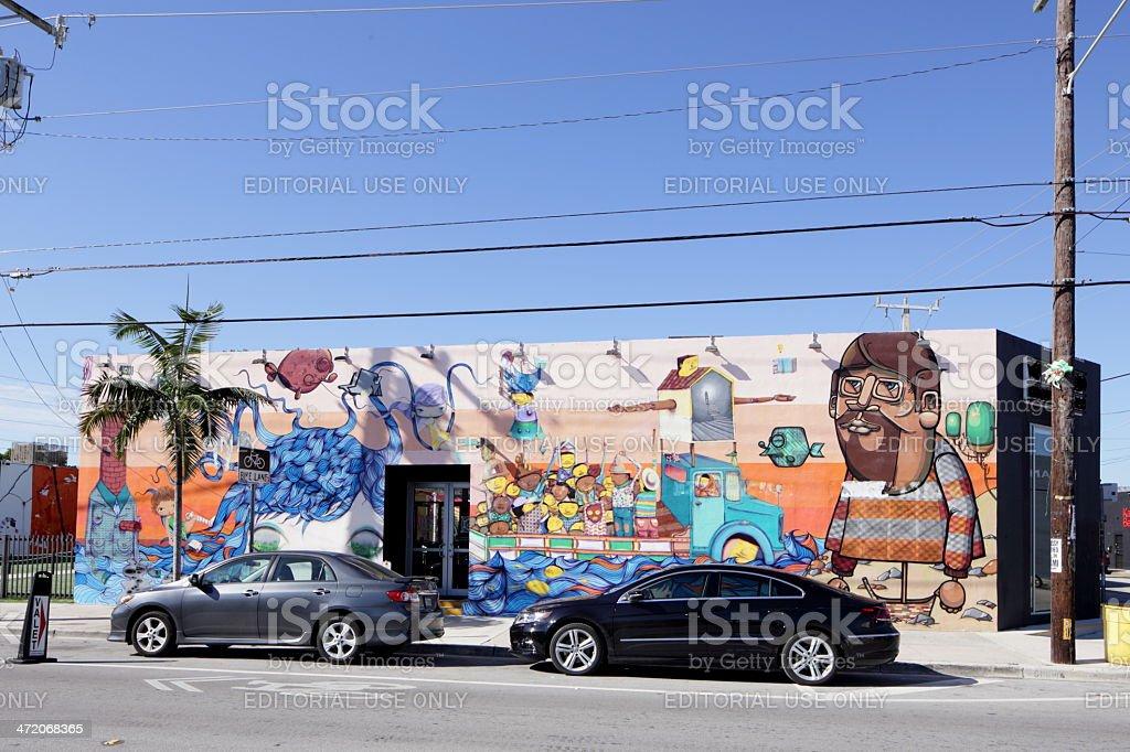 Art Walls - Stock Image stock photo