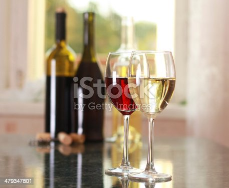 istock art wine glasses on the table 479347801