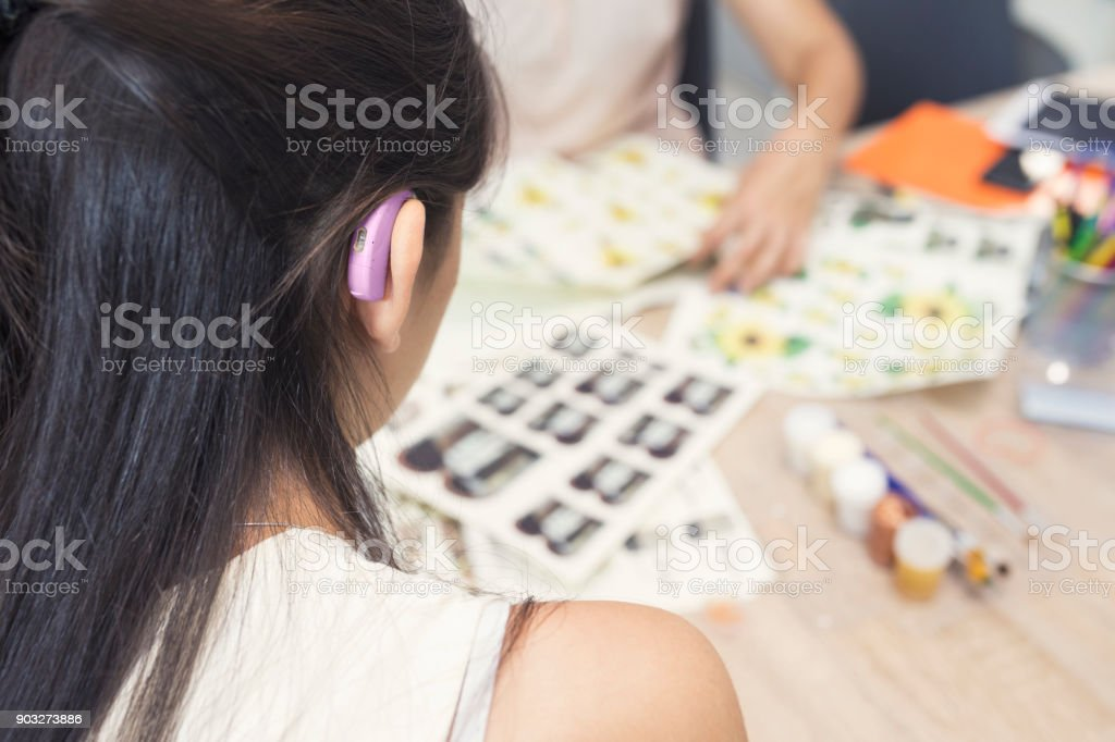 Kunstwerkstatt, organisierte Gruppe – Foto