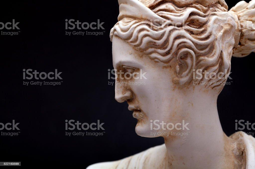 Artemis Olympian goddess stock photo
