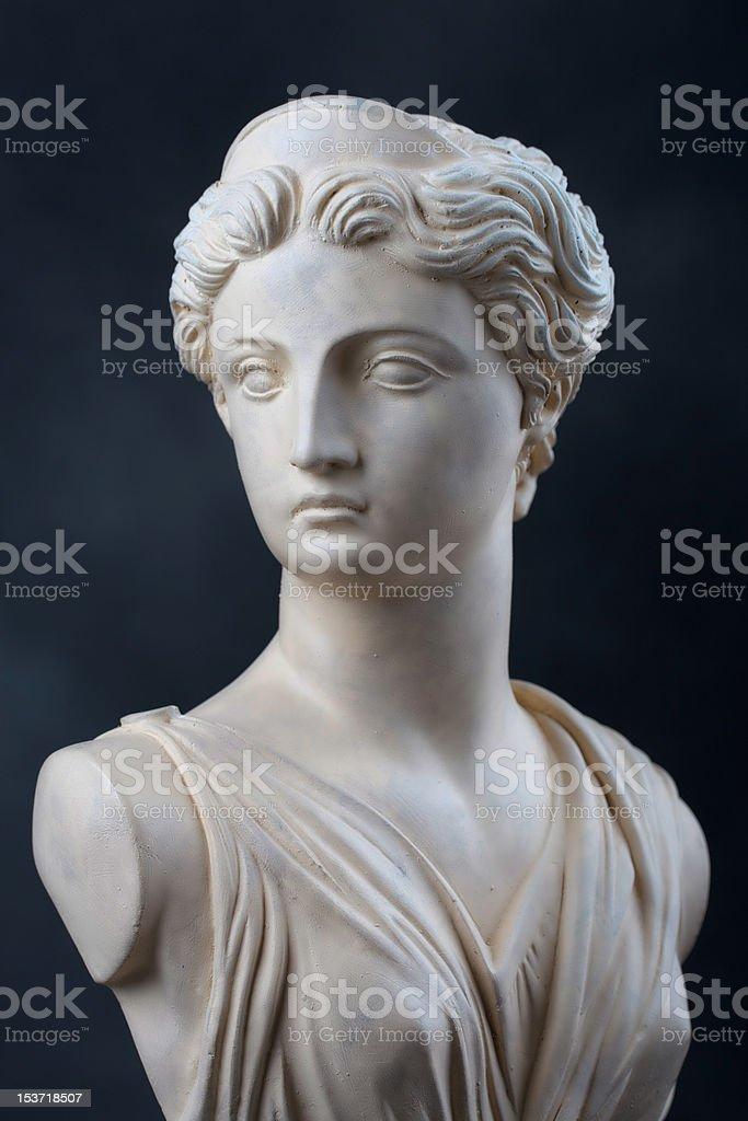 Artemis pedra do busto - foto de acervo