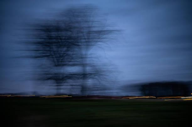 Kunstvolle Landschaft – Foto