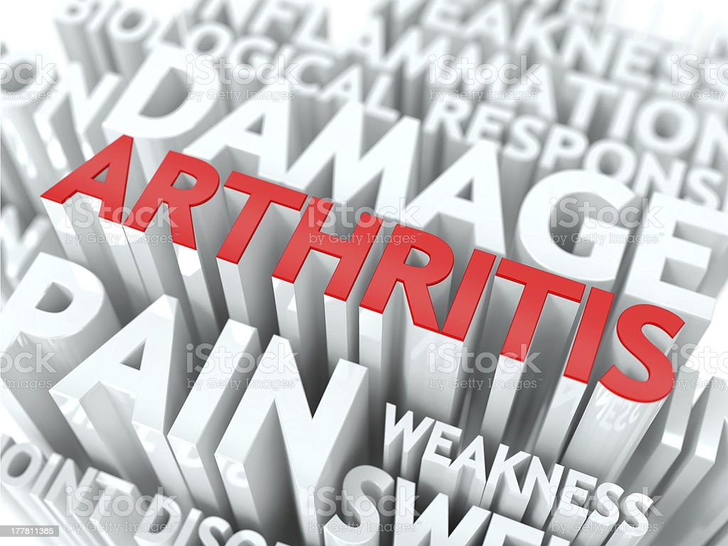 Arthritis Concept. stock photo