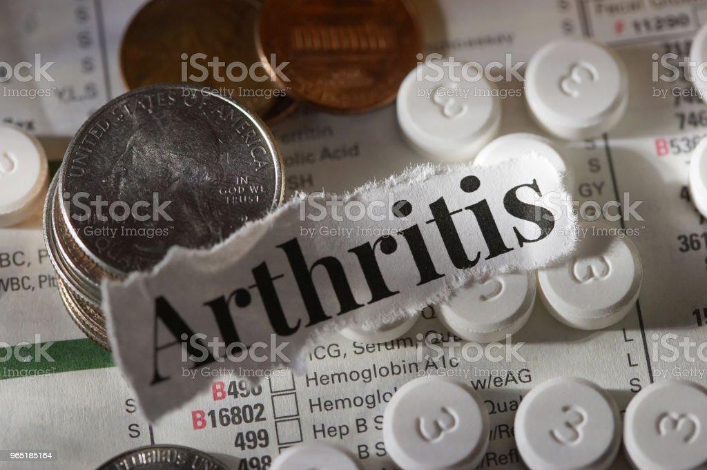 arthritis zbiór zdjęć royalty-free