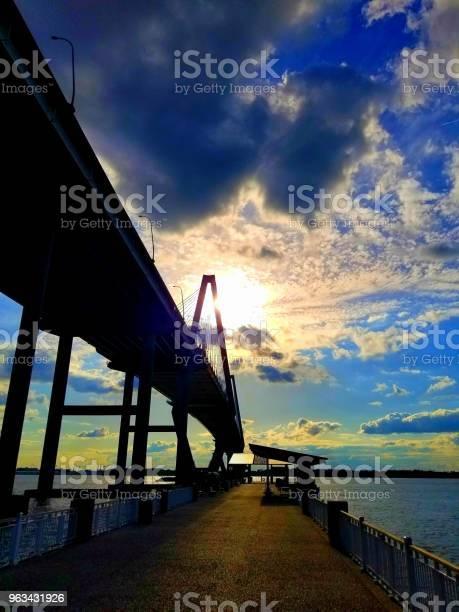 Most Arthura Ravenela W Charleston Sc - zdjęcia stockowe i więcej obrazów Architektura