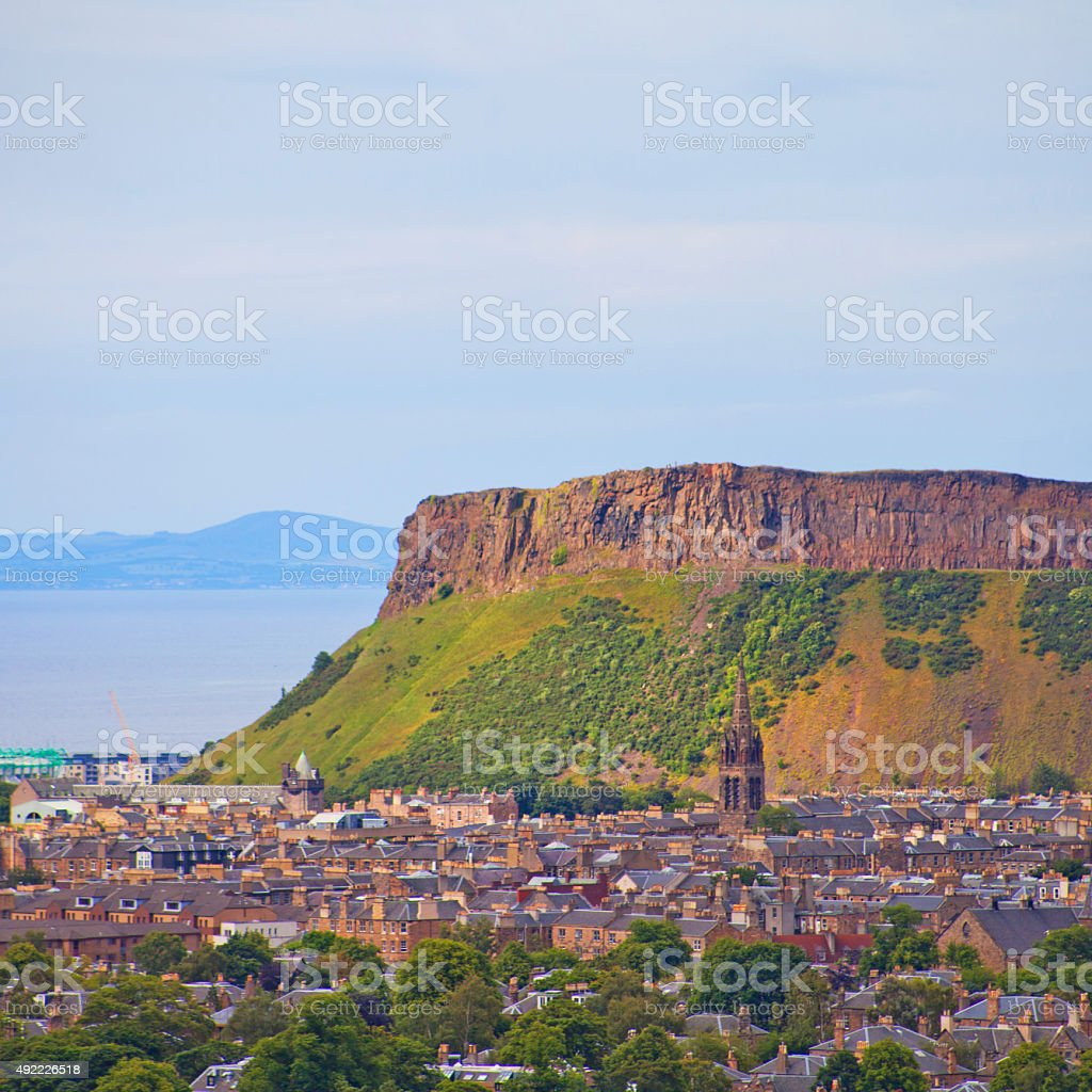 Arthur's Seat Edinburgh stock photo