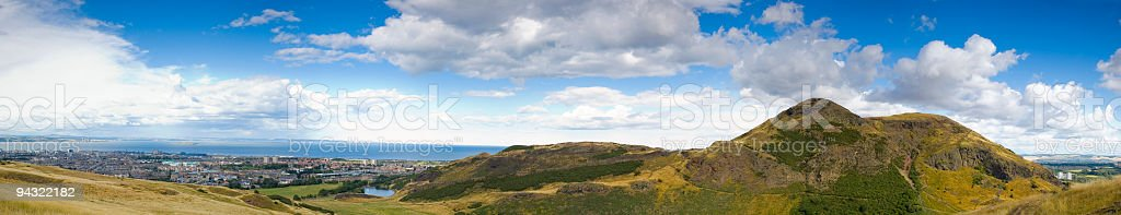 Arthurs Seat, Edinburgh royalty-free stock photo
