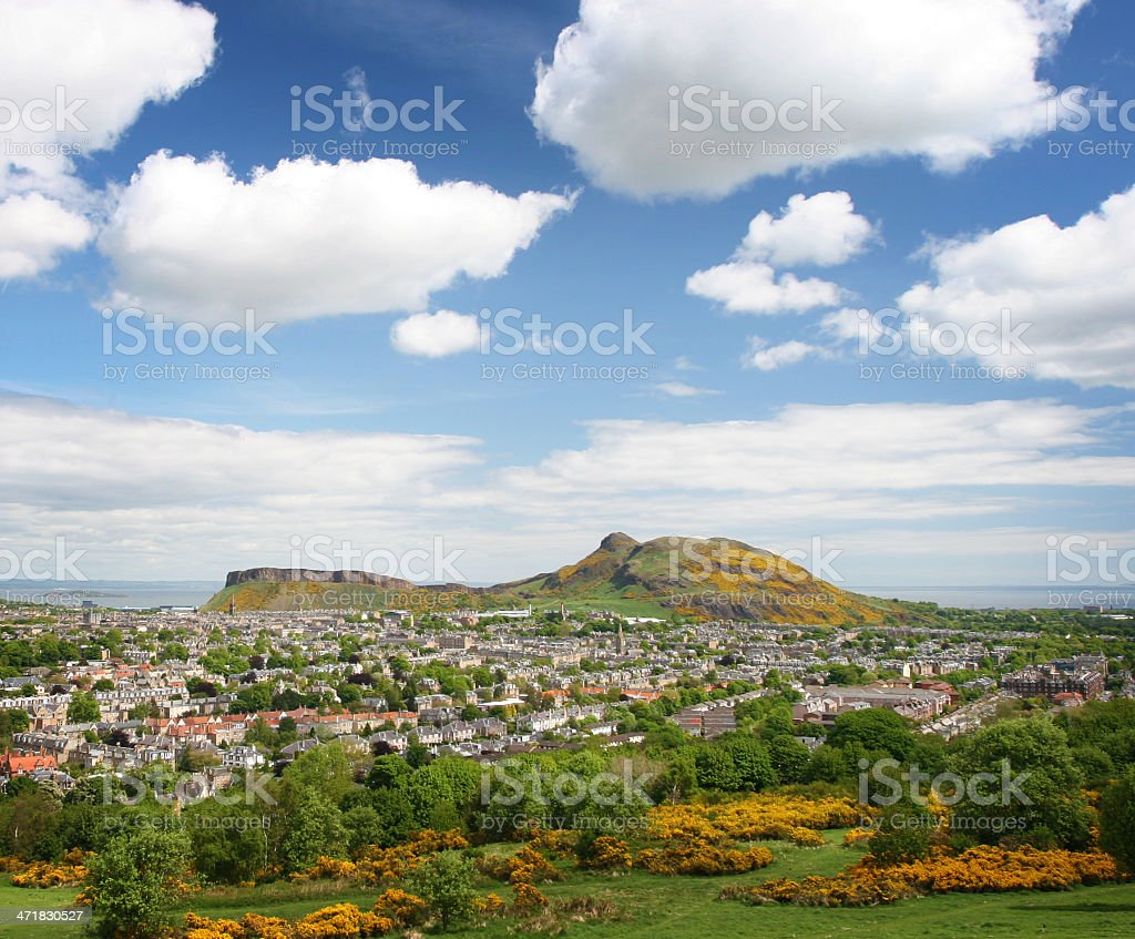 Arthur's Seat stock photo