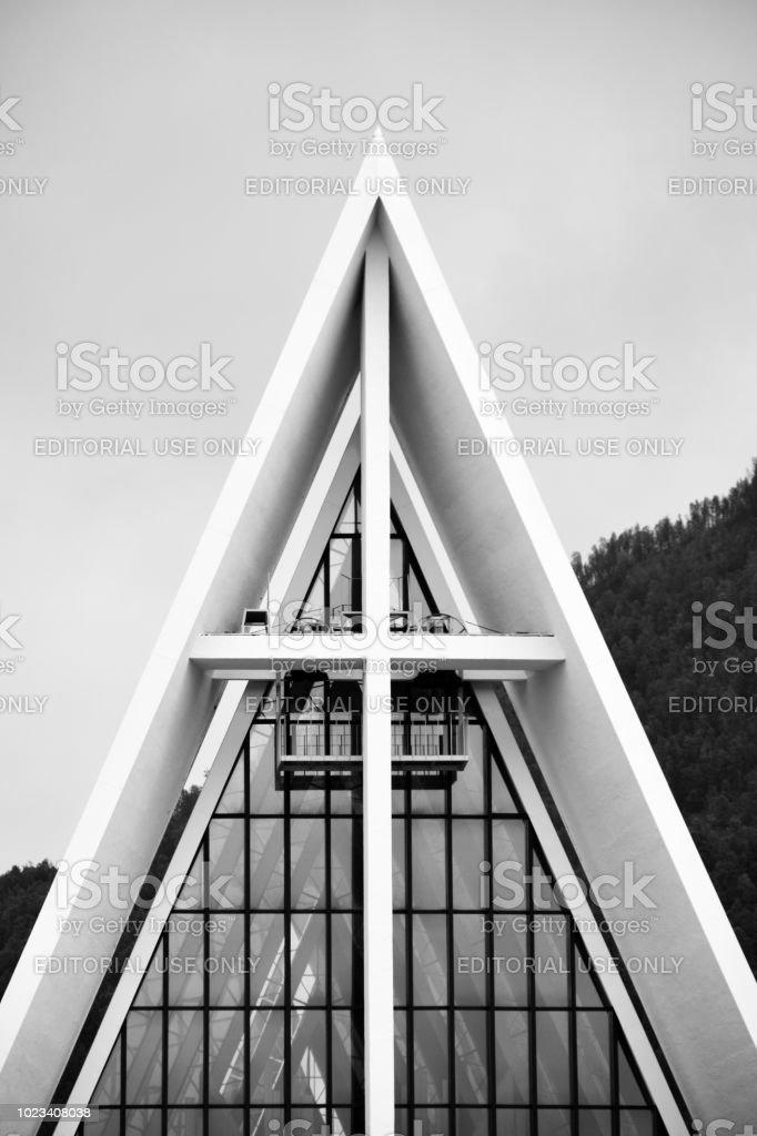 Catedral para temperaturas bajas - foto de stock