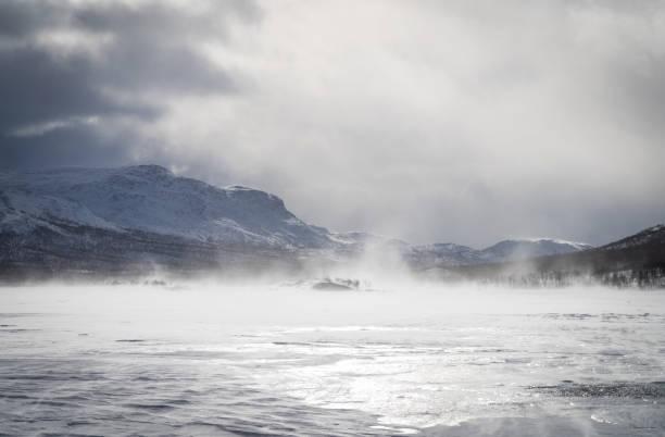 Artic wind stock photo