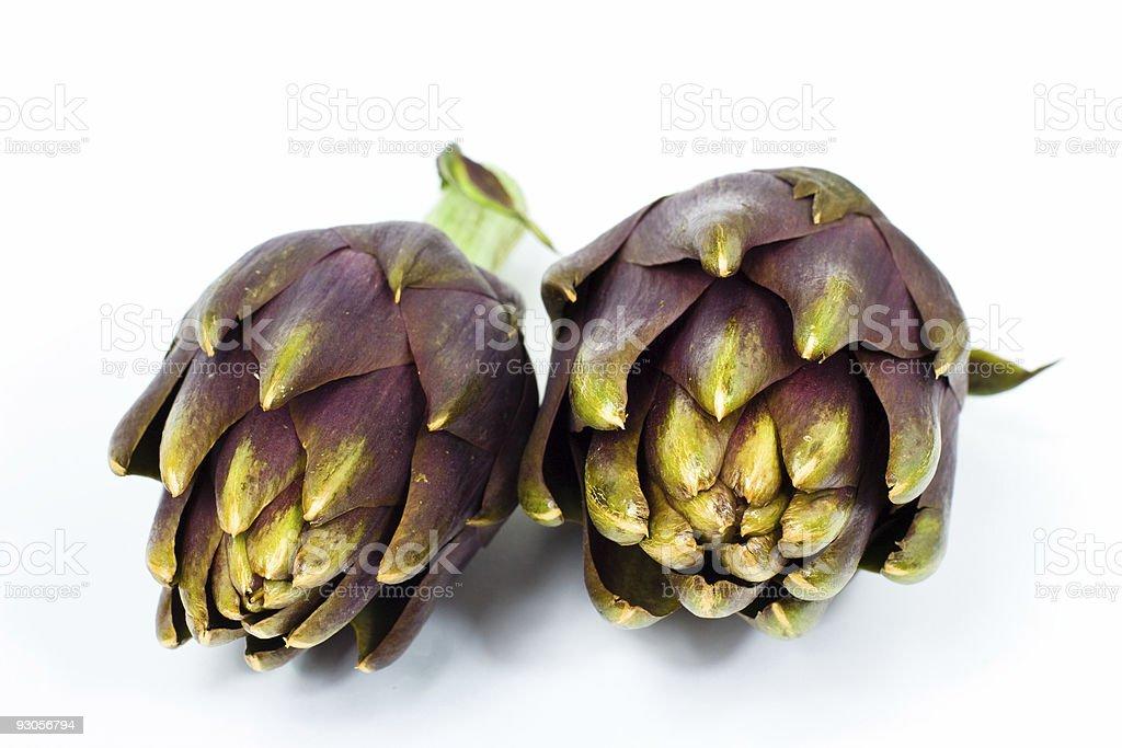 artichoke stock photo