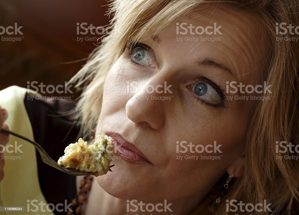artichoke spinach pastry breakfast royalty-free stock photo