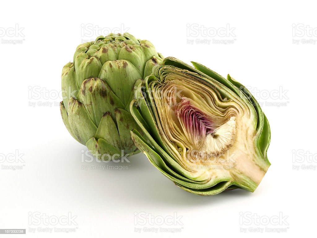 Artichokes royalty-free stock photo