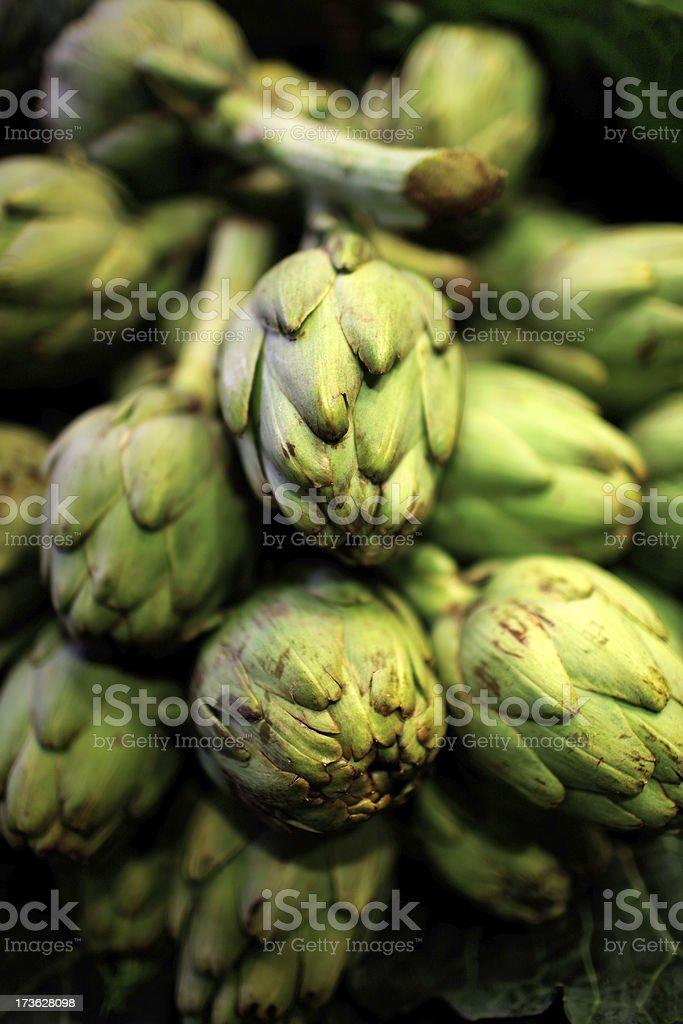 artichokes stock photo