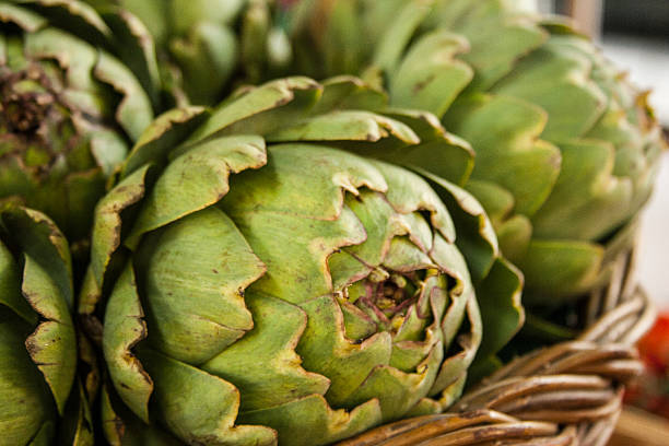 Artichokes stock photo