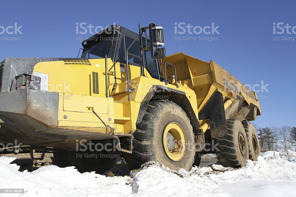 Articulated Dump Truck royalty-free stock photo