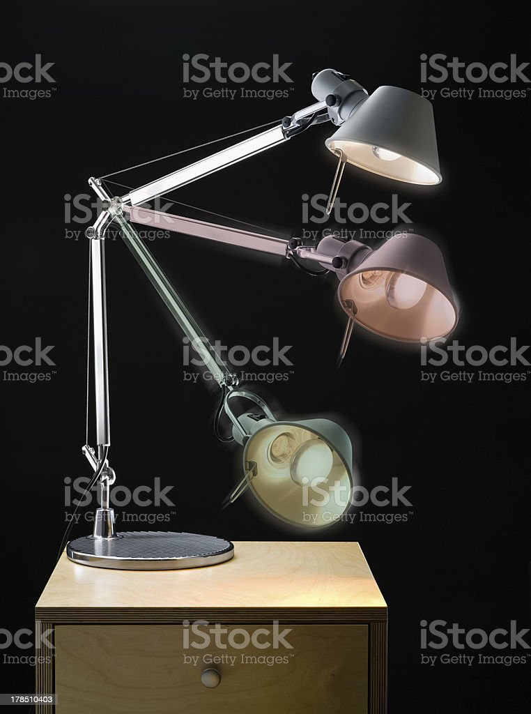 Articulated Office Lamp royalty-free stock photo