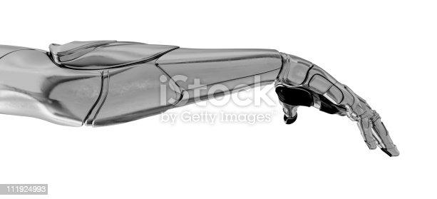 istock Artificial arm 111924993