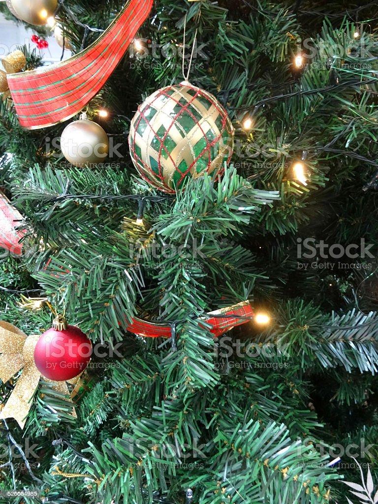 Albero Natale Decorato Rosso finto albero di natale decorazioni gioielli rosso e argento