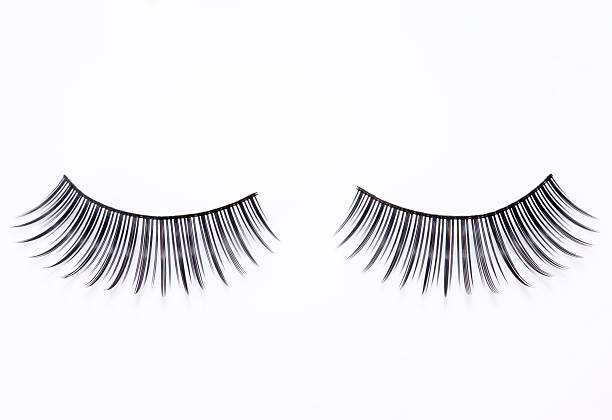 Artificial Eyelashes Artificial Eyelashes. false eyelash stock pictures, royalty-free photos & images