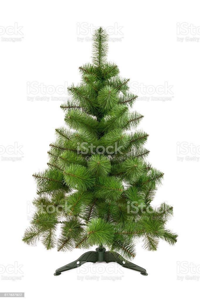 Artificial fir tree stock photo