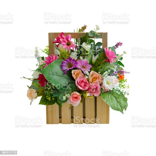 Artificial flower basket decoration isolated on white with working picture id864512710?b=1&k=6&m=864512710&s=612x612&h=xindu3jn cfdorwcpuqnomcrybyh caqvidb8qwvnfy=