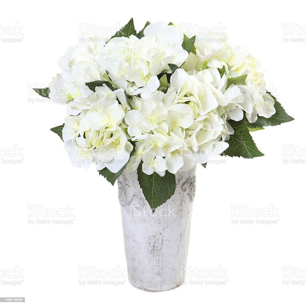 artificial flower hydrangea royalty-free stock photo
