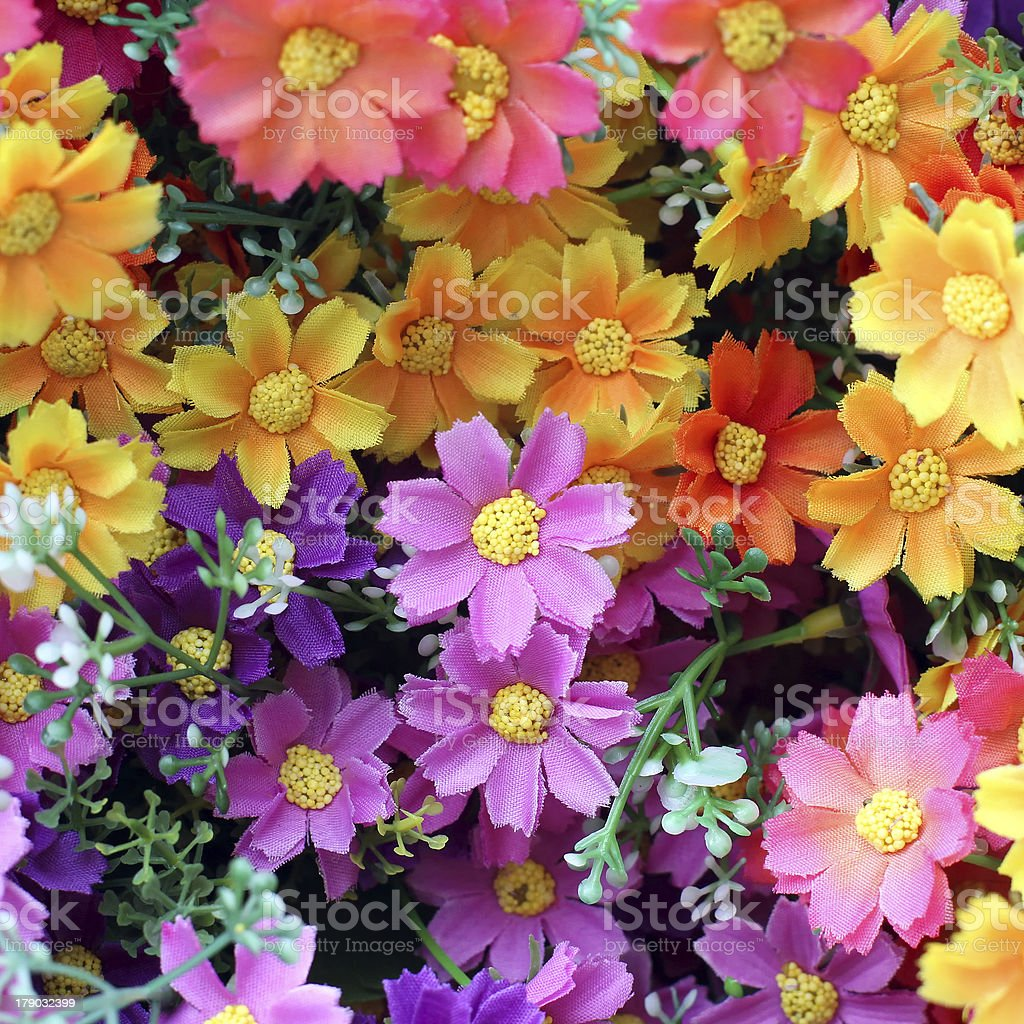 artificial flower royalty-free stock photo