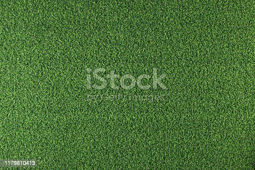 istock Artificial grass background 1179610413
