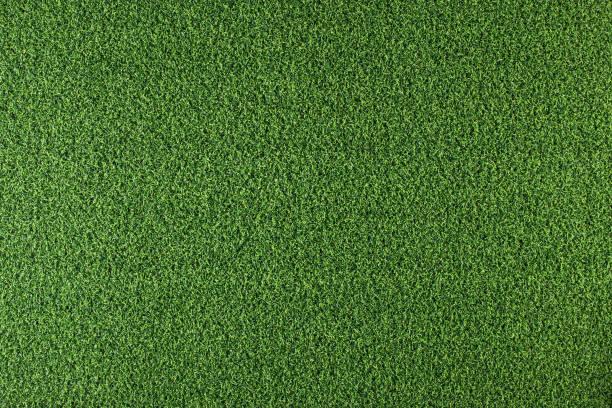 fundo da grama artificial - gramado terra cultivada - fotografias e filmes do acervo