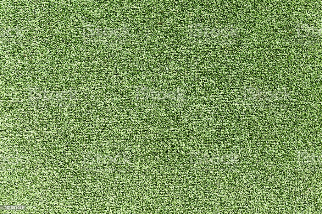 Artificial grass field top view stock photo