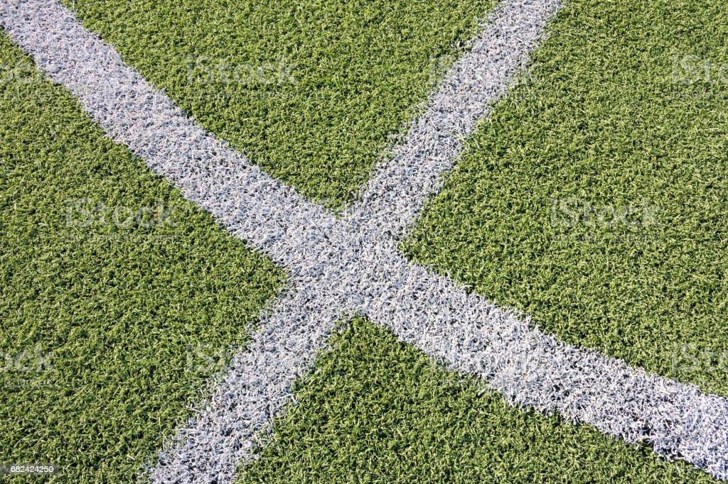 artificial grass football field photo libre de droits