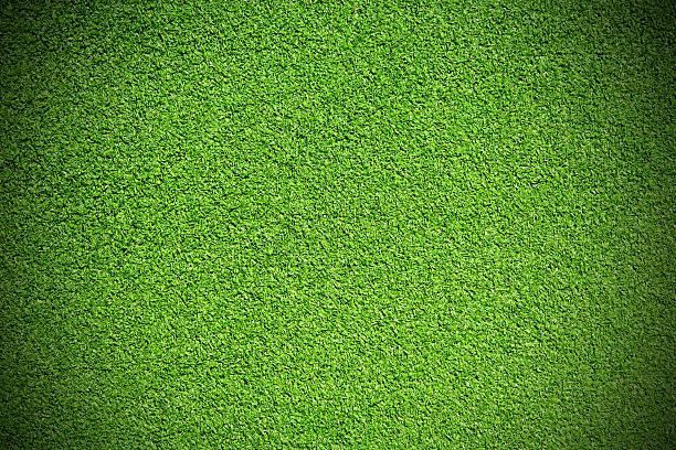 Artificial grass stock photo