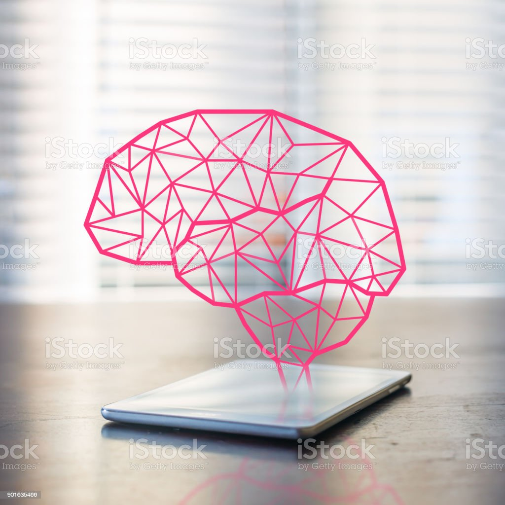 Artificial inteligence stock photo