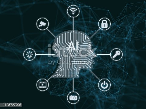 868362844 istock photo AI Artificial intelligence abstract neural network future technology internet of things big data 1128727005