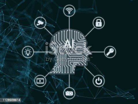 868362844 istock photo AI Artificial intelligence abstract neural network future technology internet of things big data 1128938614